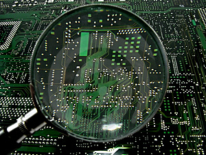 Motherboard6 Royalty Free Stock Photo