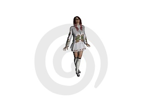 3D HD Female Rendering Royalty Free Stock Photo - Image: 2675665