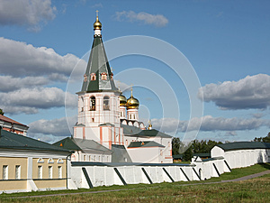 Iversky Monastery, Russia Stock Photo - Image: 26710020