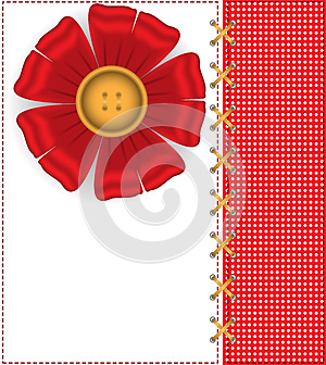 Red Flower On A White Peas Royalty Free Stock Images - Image: 26718719
