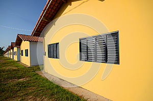Houses In Row Stock Photography - Image: 26769562