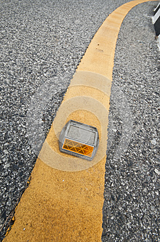 Road Reflector Royalty Free Stock Image - Image: 26770906