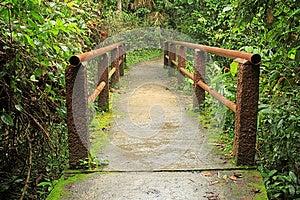 Footbridge Stock Photo - Image: 26781940