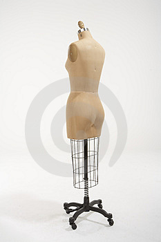 Mannequin from the back Stock Photography
