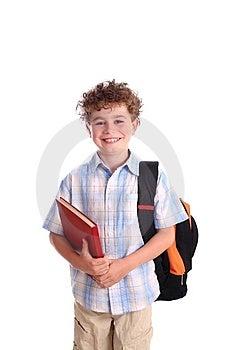 Schoolboy Free Stock Image