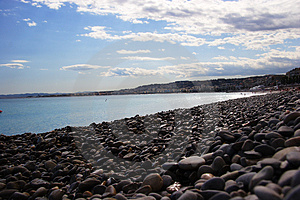 Nice Pebble Beach Royalty Free Stock Image - Image: 2684736
