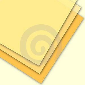 Three Blank Pages Stock Image - Image: 2684911
