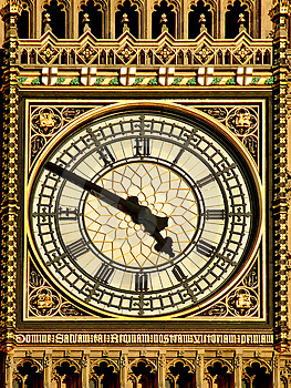 Clock Closeup Royalty Free Stock Photo - Image: 2685235