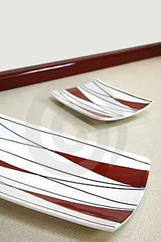 Modern Plates Stock Photos - Image: 2688293