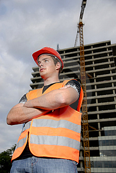 Construction supervisor Free Stock Image
