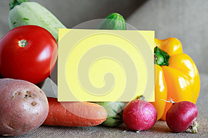 Vegetables Menu Royalty Free Stock Photo - Image: 26822575
