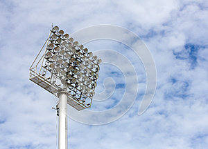 Spot-light Tower Royalty Free Stock Photos - Image: 26825688