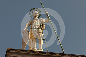 Statue Of St Theodore Royalty Free Stock Photography - Image: 26850227