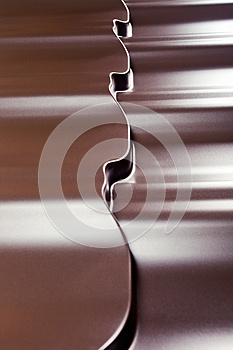 Metal Covering For A Roof Stock Images - Image: 26857734
