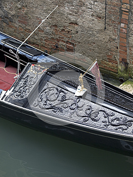 Gondola Detail Stock Image - Image: 26861021