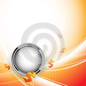 Growth Statistic Financial Frame. Eps10 Royalty Free Stock Image - Image: 26884846