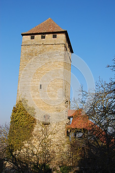 Tower Castle Royalty Free Stock Photos - Image: 26894808