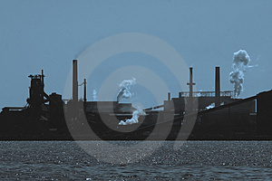 Steelmill Royalty Free Stock Image - Image: 2693336