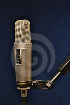 Professional Microphone Royalty Free Stock Image - Image: 2694936