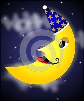 Mr. Moon Royalty Free Stock Photo - Image: 26904185