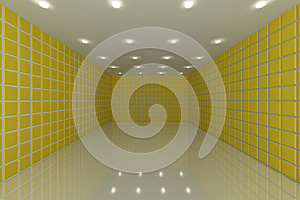 Yellow Tile Wall Royalty Free Stock Photo - Image: 26905755