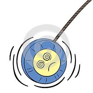 Yo-yo étourdi Photo libre de droits - Image: 26939755