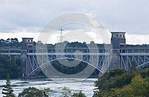 Britannia Bridge, North Wales Royalty Free Stock Image - Image: 26959076