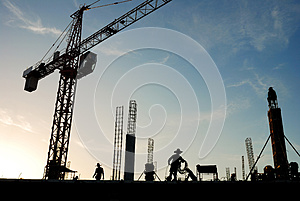 Construction  Site Royalty Free Stock Image - Image: 26964636