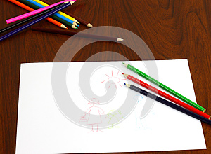 Color Pencils Royalty Free Stock Images - Image: 26967269