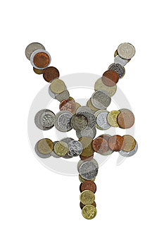 Yen Sign Stock Images - Image: 26967864