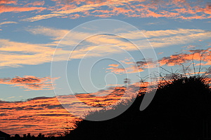 Red Sky At Night Royalty Free Stock Photo - Image: 26969715