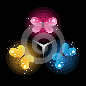 Vector Abstract Background Royalty Free Stock Photos - Image: 26977748