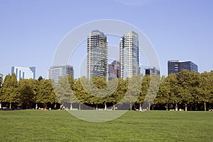 Business Buildings Royalty Free Stock Image - Image: 26986656
