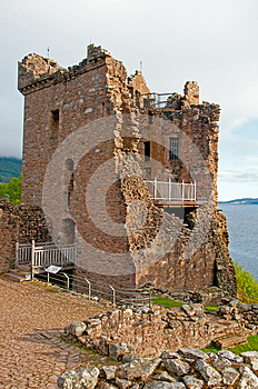 Grant Hall At Urqhart Castle. Royalty Free Stock Photo - Image: 26990215