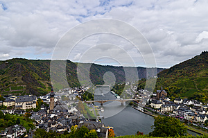 Mosel View Royalty Free Stock Photo - Image: 26992265