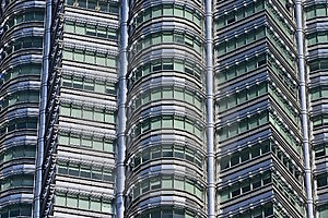 Building Pattern Free Stock Photo