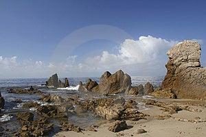 Rocky Coast Free Stock Photo
