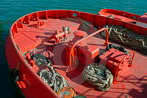 Mooring Ship Free Stock Image