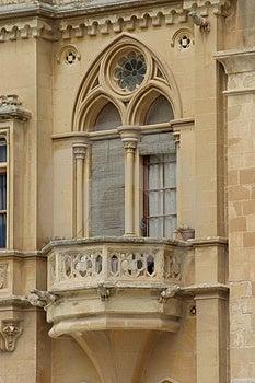 Feudal Age Balcony Stock Image