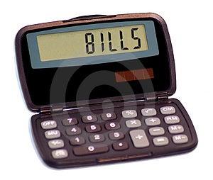 Calculator Ii Stock Photo