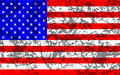 Grunge stars and stripes Royalty Free Stock Photography