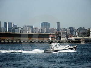 Pilot Boat In Port Royalty Free Stock Photos - Image: 2700478