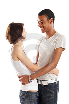 Great Couple in Love Royalty Free Stock Photography