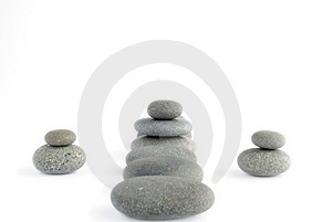 Set Pebble Stock Photos - Image: 2701483