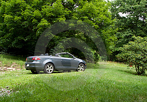 Convertible In Field Royalty Free Stock Photography - Image: 2707757