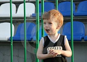 The Future Football Fan Royalty Free Stock Photos - Image: 2709018