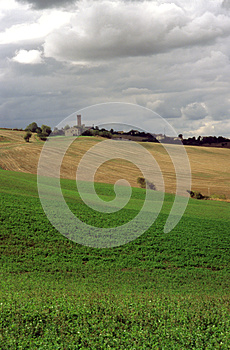 Agricultural Land Stock Photo - Image: 27030710