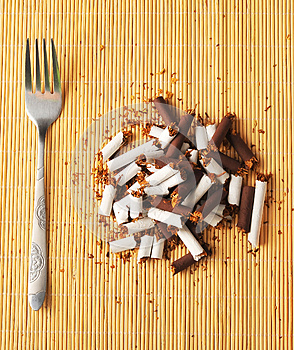 Cigarette Meal Stock Photos - Image: 27030763