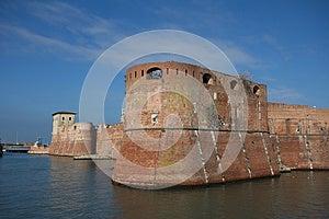 Livorno Castle Royalty Free Stock Photos - Image: 27049428