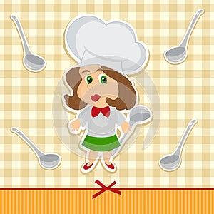 Cook Women Vector Stock Photos - Image: 27079853
